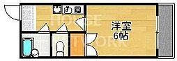 パルコーポ太子道[405号室号室]の間取り