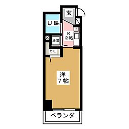 パールハイツカトウ[1階]の間取り
