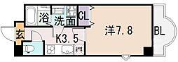 ルミエール八尾駅前[1006号室]の間取り