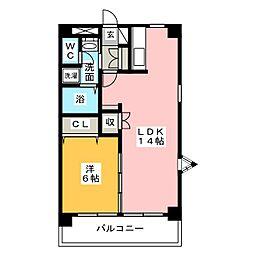 バードYMハイツ[2階]の間取り