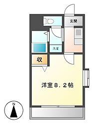 コンフォール加茂[3階]の間取り