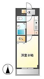 現代ハウス大須[4階]の間取り