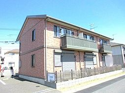埼玉県三郷市花和田の賃貸アパートの外観