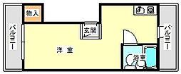 兵庫県神戸市垂水区瑞ケ丘の賃貸マンションの間取り