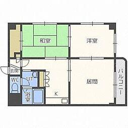 パークヒル24[1階]の間取り