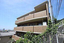 兵庫県神戸市灘区城の下通2丁目の賃貸マンションの外観