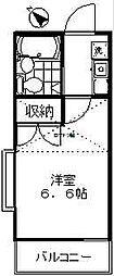 JPC MIZONOKUCHI[2階]の間取り