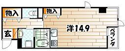 エトワール・ド・ヒサノ[2階]の間取り