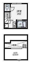 リージェンシー練馬B棟[2階]の間取り