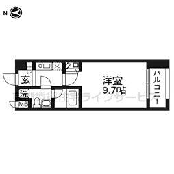 プレサンスNEO京都烏丸902[9階]の間取り