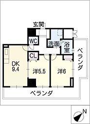ARDEA[14階]の間取り