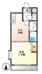 第3平安ビル[3階]の間取り