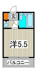 ジョイフル西川口第2[303号室]の間取り