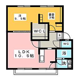 サンシティ福寿 A棟[2階]の間取り
