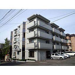 北海道札幌市白石区栄通17丁目の賃貸マンションの外観