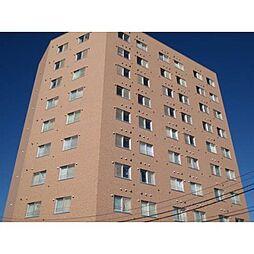 北海道札幌市北区南あいの里6丁目の賃貸マンションの外観