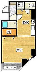 泉屋ビル[3階]の間取り