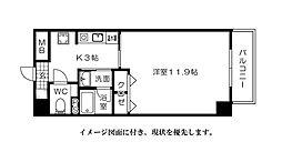 メゾン富士見--[302号室]の間取り