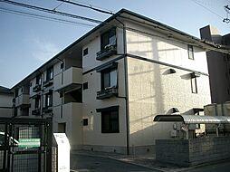 アベニューA棟[1階]の外観