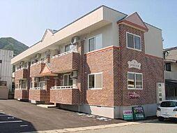 山形県山形市松波3丁目の賃貸アパートの外観