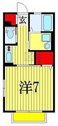 第一八洲荘NEO[2階]の間取り