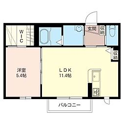 レフア湘南II[2階]の間取り