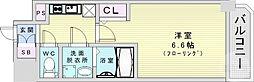 Osaka Metro長堀鶴見緑地線 京橋駅 徒歩2分の賃貸マンション 13階1Kの間取り