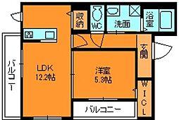 シャーメゾン ラピュタ[2階]の間取り