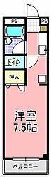 アスカ・F[305号室]の間取り