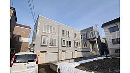 北海道札幌市豊平区中の島一条9丁目の賃貸アパートの外観