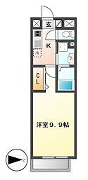 リシュドール鶴舞公園[15階]の間取り
