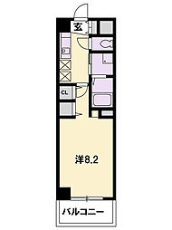 KDXレジデンス南草津[6階]の間取り
