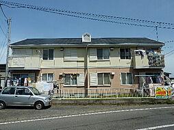 茨城県那珂郡東海村舟石川駅西4丁目の賃貸アパートの外観