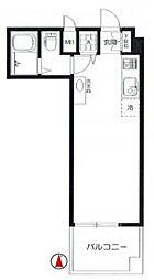 インペリアル広尾[4階]の間取り