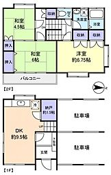 町川アパート[1階]の間取り