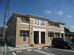 岡山県倉敷市黒崎の賃貸アパートの外観
