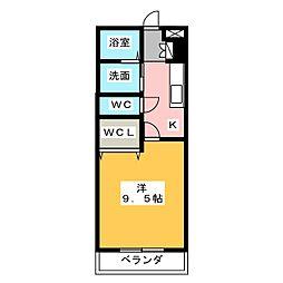 Well Court III[1階]の間取り