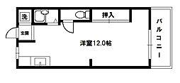 第5東昌ハイツ[4階]の間取り