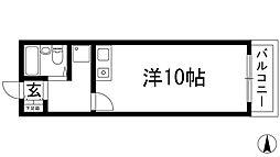 Enuzハイツ[4階]の間取り