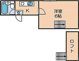 岸里玉出駅 2.5万円