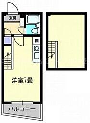 香川県高松市本町の賃貸マンションの間取り