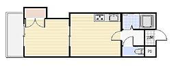 エンドレス519[4階]の間取り