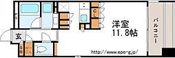 ガリレオ新町(南棟)[7階]の間取り