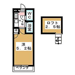 アップルハウス[2階]の間取り