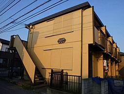 埼玉県川越市霞ケ関東2丁目の賃貸アパートの外観