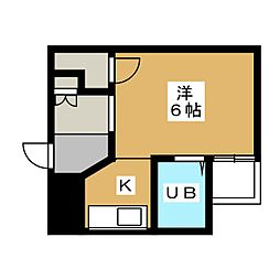 紅彩ハウス[2階]の間取り