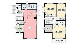 [一戸建] 兵庫県西宮市段上町7丁目 の賃貸【/】の間取り