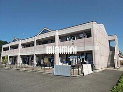 岐阜県加茂郡川辺町下川辺の賃貸アパートの外観