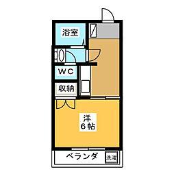 メゾン新栄II[2階]の間取り