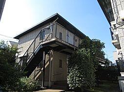 ホワイトコーポB棟[1階]の外観
